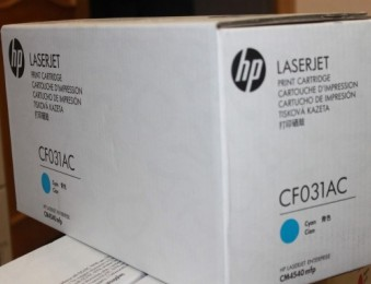 Картридж HP CLJ CF031AC, C, 12,5K (corp.)