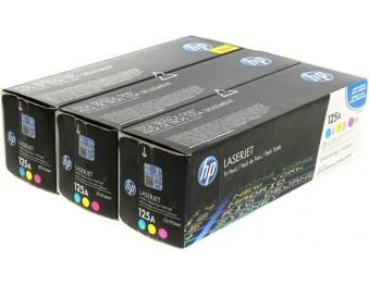 Картридж HP CLJ CM1300/CM1312/CP1210/CP1215 (O) 125A, C/M/Y, CF373AM