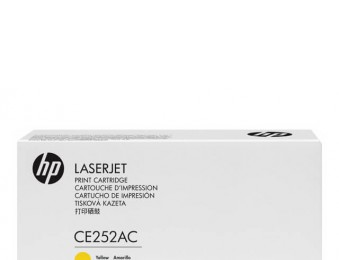 картридж HP CE252AC (№504A) (желтый)
