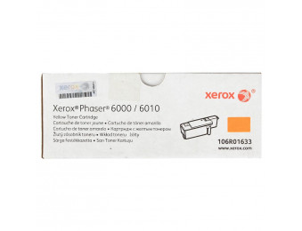 Принт-картридж (1K) Xerox Phaser 6000/6010/WC6015 (O) 106R01633 yellow