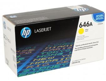 CF032A HP 646A лазерный картридж HP жёлтый