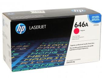 CF033A HP 646A лазерный картридж HP красный