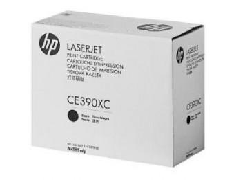 картридж HP CE390XC (№90X) (corp.) ресурс - 24000, для LJ M4555