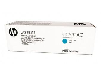 Картридж HP CLJ CP2025/CM2320 (O) CC531AC, C, 2,8K