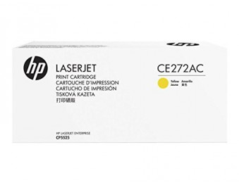 Оригинальный картридж HP CE272AC (№650A) (желтый)