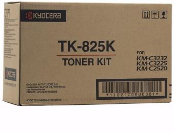 Картридж Kyocera TK-825K для Kyocera KM-C2520, C2525, C3225, C3232, C4035