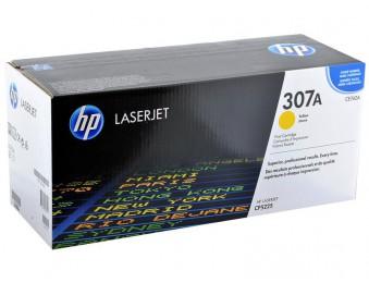 Картридж HP CLJ 5225 (O) CE742A, Y, 7,3K