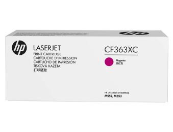 Картридж лазерный CF363XC пурпурный. ресурс- 9500, для CLJ M552/M553