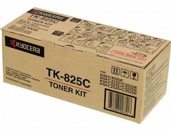 Картридж Kyocera TK-825C для Kyocera KM-C2520, C2525, C3225, C3232, C4035