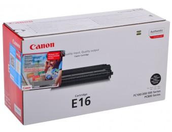 Картридж CANON E-16 черный для FC-200/210/220/226/230/310/330/336/530