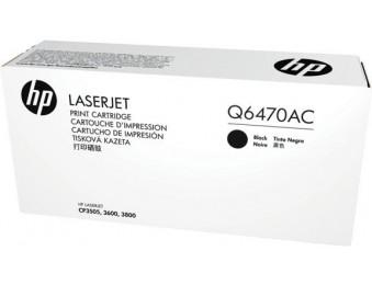 Картридж HP CLJ3600/3800/CP3505 (O) Q6470AC, BK, 6K