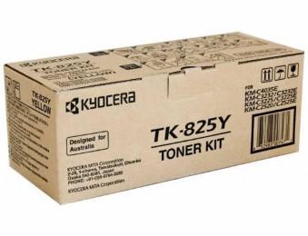 Картридж Kyocera TK-825Y для Kyocera KM-C2520, C2525, C3225, C3232, C4035