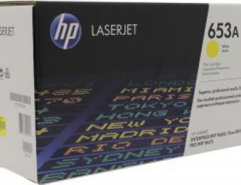 Картридж HP CLJ Enterprise M680n/M680dn/M680xh (O) № 653A, CF322A, Y, 16K