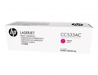 HP CC533AC, картридж пурпурный (corp.) № 304A ресурс - 2800, для LJ CP2025/CM2320