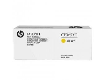 HP CF362XC, картридж желтый (corp) ресурс - 9500, для CLJ M552/M553
