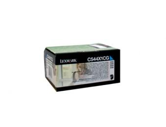 Картридж Lexmark C544X1CG синий, для C540, C543, C544, X543, X544, 4k