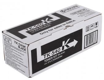 Картридж лазерный TK-540 черный, для FS-C5100DN, 5k