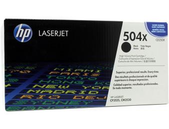 Картридж HP CLJ CP3525/3530 (CE250X) черный 10,5K