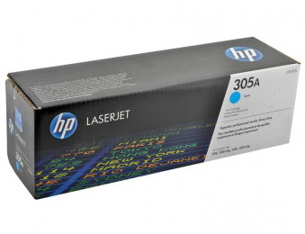 Картридж HP CLJ Pro 300 Color M351/Pro400ColorM451 (O) CE411A, C, 2,6K, 305a