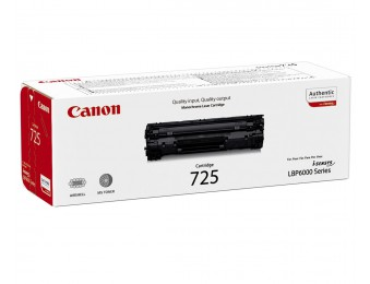 Картридж Canon 725 (3484b005), для LBP6000/6000B, 1.6k
