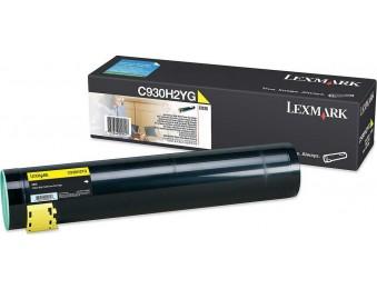 Картридж Lexmark C930H2YG желтый, для C935, 24k