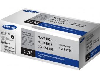 картридж Samsung MLT-D119S, для ML-1610/2010/SCX-4521, 2k