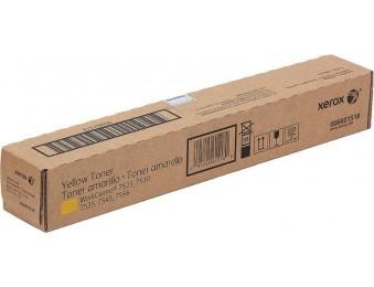 Картридж Xerox 006r01518, желтый, для WC7545/7556, 15k