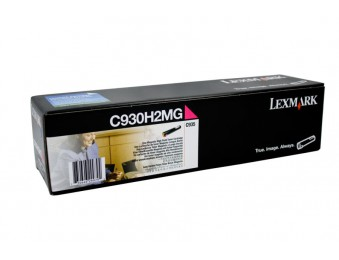 Картридж Lexmark C930H2MG пурпурный, для C935, 24k