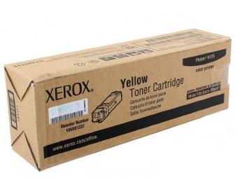 Картридж Xerox 106R01337, желтый, для Ph 6125, 1k
