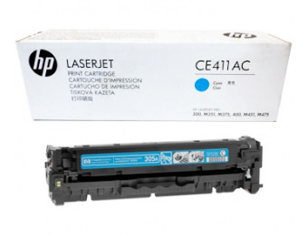 Картриджи к лазерным принтерам Hewlett-Packard (HP) CE411AC
