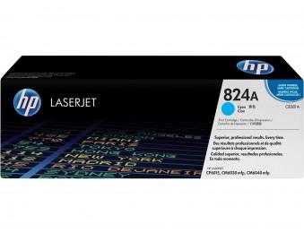 Картридж HP 824A голубой cb381a ресурс(страниц)- 21000, для CLJ CM6030/CM6040
