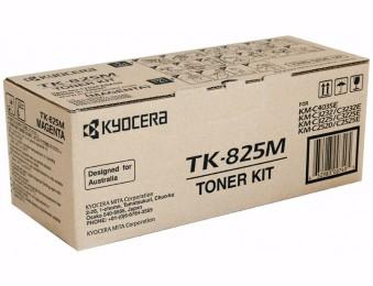 Картридж лазерный Kyocera TK-825M,для МФУ KM-C2520, KM-C2525E, KM-C3232, KM-C3232E, KM-C4035E, пурпурный, 7k